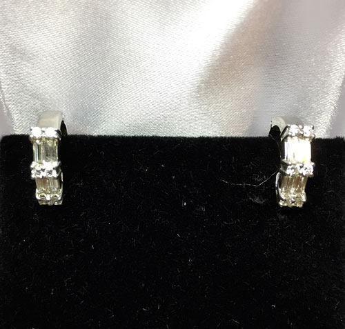 Diamond Earring Set